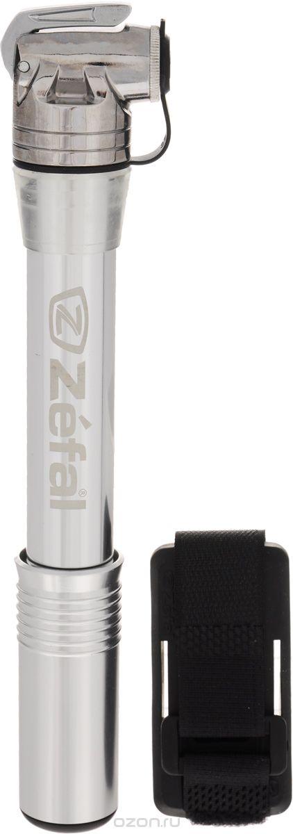 Мини-насос велосипедный Zefal Z Cross All, ручнойZ90 blackВелосипедный ручной насос Zefal Z Cross All выполнен из высококачественного алюминия. Благодаря специальной системе клапана Z-swift, этот насос подходит для всех типов ниппелей (авто, вело, Dunlop). Он компактный и его легко прикрепить к велосипеду за счет фирменного крепления (поставляется в комплекте с насосом). Максимальное давление 7 атмосфер (100 psi).Длина насоса 23 см.Zefal – старейший французский производитель велосипедных аксессуаров премиального качества, основанный в 1880 году, является номером один на французском рынке велосипедных аксессуаров.