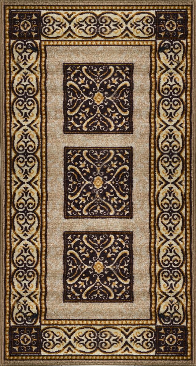 Коврик для ванной MAC Carpet Розетта, цвет: коричневый, 80 х 150 см4606400204268Коврик для ванной MAC Carpet Розетта изготовлен из нейлона на резиновой основе. Такие коврики с успехом могут применяться как в ванных комнатах, так и во всех других помещениях, где необходима защита от влаги. Также подойдет для прихожей или комнаты. Нейлон обеспечивает повышенную износостойкость и простоту в уходе. Такой коврик стильно дополнит интерьер помещения.