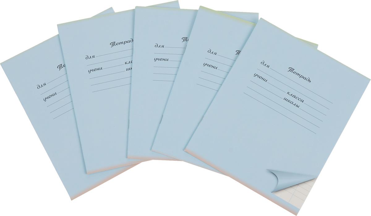 Action! Набор тетрадей 12 листов в линейку цвет голубой 5 шт72523WDКомплект тетрадей Action! включает в себя 5 тетрадей.Обложка каждой тетради изготовлена из картона. На задней стороне обложки тетради представлен алфавит русского языка. Внутренний блок тетрадей состоит из 12 листов белой бумаги, соединенных скрепками. Стандартная линовка в голубую линейку дополнена полями.