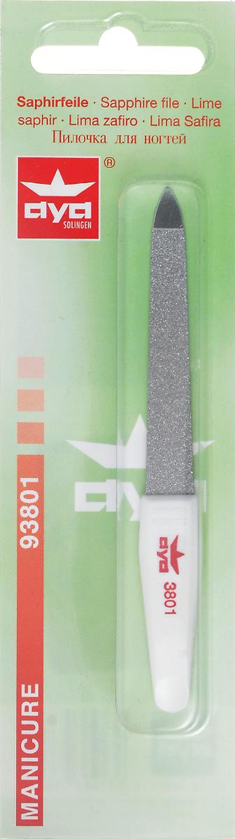 Becker-Manicure AYA Пилочка для ногтей 10см. 93801222-C606зПилочка двусторонняя, с одной стороны сапфировое напыление более крупное для придания ногтю формы, с другой более мелкое для завершения шлифовки ногтя.Длина пилочки 10 смХранить в сухом недоступном для детей месте.Срок годности не ограничен.Замена изделия не осуществляется в следующих случаях:- Использование не по назначению- Самостоятельный ремонт- Нарушение условий хранения