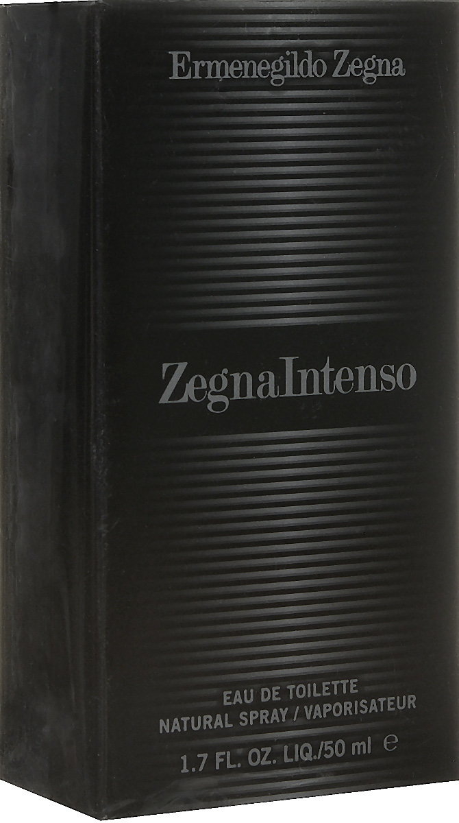 Ermenegildo Zegna Intenso Туалетная вода-спрей мужская 50 мл28032022Магнетический аромат, покоряющий своей харизматичностью и властностью, он заставляет терять голову даже самых железных леди своей безапелляционной мужественностью. Аромат Zegna Intenso раскрывает образ яркого, стильного, современного мужчины, живущего сегодняшним днем, но при этом руководствующегося традициями. Стиль, отраженный в аромате, состоит из контрастов, обыгрываемых в оформлении флакона, грани которого передают игру света и тени.
