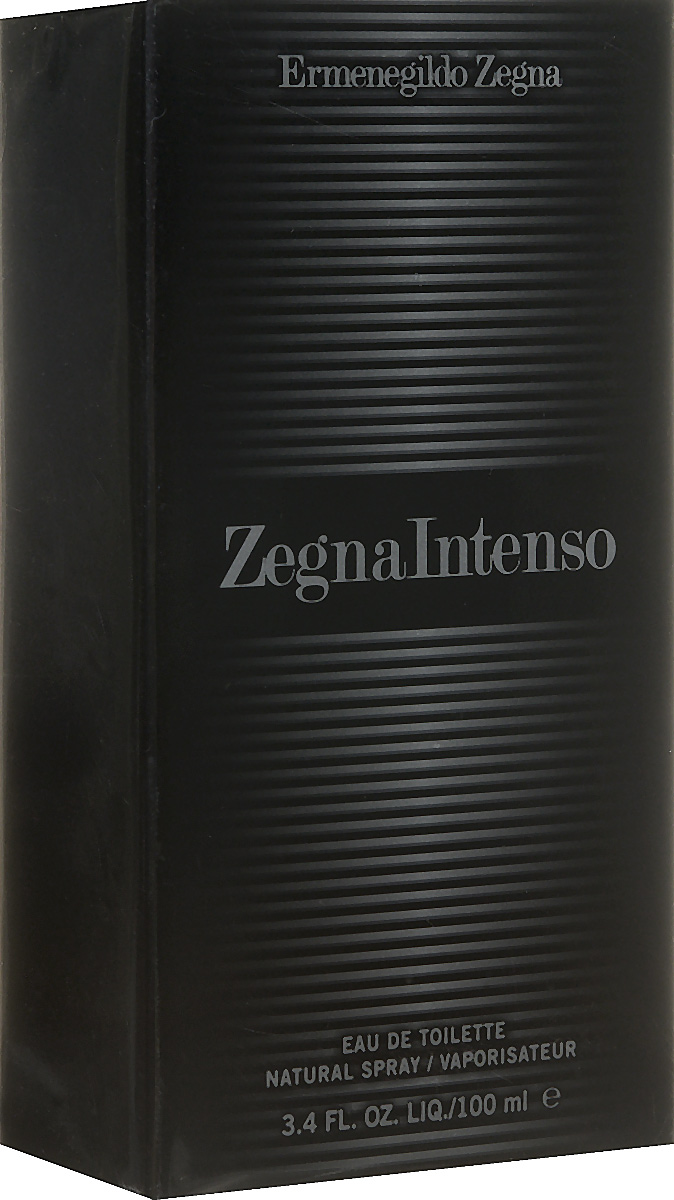 Ermenegildo Zegna Intenso Туалетная вода-спрей мужская 100 мл13990Магнетический аромат, покоряющий своей харизматичностью и властностью, он заставляет терять голову даже самых железных леди своей безапелляционной мужественностью. Аромат Zegna Intenso раскрывает образ яркого, стильного, современного мужчины, живущего сегодняшним днем, но при этом руководствующегося традициями. Стиль, отраженный в аромате, состоит из контрастов, обыгрываемых в оформлении флакона, грани которого передают игру света и тени.