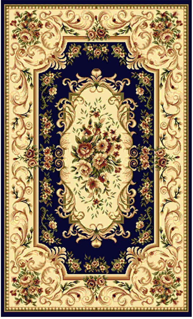 Ковер Kamalak tekstil, прямоугольный, цвет: синий, 100 x 150 см. УК-0361U210DFКовры-паласы выполнены из полипропилена. Ковры обладают хорошими показателями теплостойкости и шумоизоляции. Являются гиппоалергенными. За счет невысокого ворса ковры легко чистить. Вам придется по душе широкая гамма цветов и возможность гармонично оформить интерьер. Практичный и устойчивый к износу ворс - от постоянного хождения не истирается, не накапливает статическое электричество. Структура волокна в полипропиленовых моделях гладкая, поэтому грязь не может выесться, на ворсе она скапливается с трудом. Полипропилен не впитывает влагу, отталкивает водянистые пятна. Уход: Самый простой способ избавить изделие от грязи – пропылесосить его с обеих сторон (лицевой и изнаночной).Влажная уборка с применением шампуней и моющих средств не противопоказана. Если шерсти и шёлку универсальные чистящие составы не подходят, то для синтетики они придутся в самый раз.Хранить их нужно рулоном, не складывая «салфеткой».При надлежащем уходе синтетический ковёр прослужит долго, не утратив ни яркости узора, ни блеска ворса, ни его упругости.