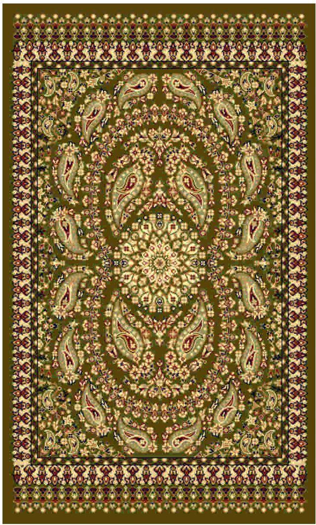 Ковер Kamalak tekstil, прямоугольный, цвет: зеленый, 50 x 100 см. УК-047254 009305Ковры-паласы выполнены из полипропилена. Ковры обладают хорошими показателями теплостойкости и шумоизоляции. Являются гиппоалергенными. За счет невысокого ворса ковры легко чистить. Вам придется по душе широкая гамма цветов и возможность гармонично оформить интерьер. Практичный и устойчивый к износу ворс - от постоянного хождения не истирается, не накапливает статическое электричество. Структура волокна в полипропиленовых моделях гладкая, поэтому грязь не может выесться, на ворсе она скапливается с трудом. Полипропилен не впитывает влагу, отталкивает водянистые пятна. Уход: Самый простой способ избавить изделие от грязи – пропылесосить его с обеих сторон (лицевой и изнаночной).Влажная уборка с применением шампуней и моющих средств не противопоказана. Если шерсти и шёлку универсальные чистящие составы не подходят, то для синтетики они придутся в самый раз.Хранить их нужно рулоном, не складывая «салфеткой».При надлежащем уходе синтетический ковёр прослужит долго, не утратив ни яркости узора, ни блеска ворса, ни его упругости.