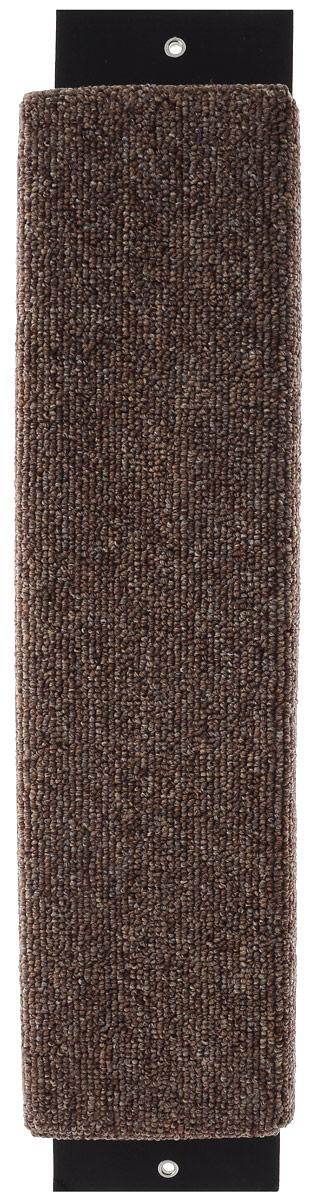 Когтеточка Гамма Ковролин, с пропиткой, цвет: коричневый, 52 х 11 смД126 ГКогтеточка Гамма Ковролин выполнена из оргалита и ковролина в виде доски. Когтеточка предназначена для стачивания когтей вашего питомца. Натуральное волокно когтеточки обеспечивает естественный уход за когтями кошки, предотвращая их врастание. Специальная пропитка привлекает внимание кошки, что позволяет сохранить мебель и другие предметы интерьера.Установите когтеточку в любом доступном для кошки месте и закрепите ее наиболее подходящим для вас способом.Размер: 52 х 11 см.