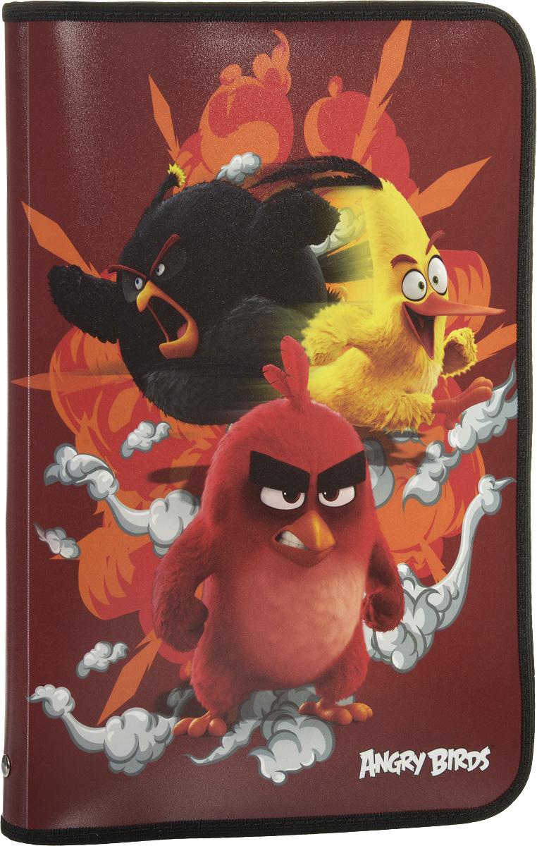 Angry Birds Movie Папка для тетрадейABDB-US1-CPBFLA4Папка Angry Birds Movie имеет одно вместительное отделение на молнии и предназначена для переноски и хранения тетрадей, рисунков и других канцелярских принадлежностей. Она изготовлена из качественного пластика, а ее обложка оформлена изображениями персонажей из знаменитого мультфильма Angry Birds.Эта удобная папка несомненно станет стильным аксессуаром для вашего ребенка в школьных делах.Товар не предназначен для детей младше 3-х лет.