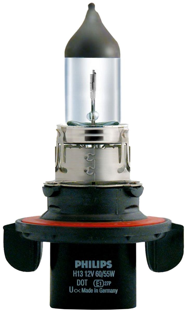 Галогенная автомобильная лампа Philips H13 12V-60/55W (P26.4t) 9008C16.295-875.0Уже в течение 100 лет компания Philips остается в авангарде автомобильного освещения, внедряя технологические инновации, которые впоследствии становятся стандартом для всей отрасли. Сегодня каждый второй автомобиль в Европе и каждый третий в мире оснащены световым оборудованием Philips.Соответствие нормам ECEPhilips Automotive предлагает лучшие в классе продукты и услуги на рынке оригинальных комплектующих и послепродажного обслуживания автомобилей. Наши продукты производятся из высококачественных материалов и соответствуют самым высоким стандартам, чтобы обеспечить максимальную безопасность и комфортное вождение для автомобилистов. Вся продукция проходит тщательное тестирование, контроль и сертификацию (ISO 9001, ISO 14001 и QSO 9000) в соответствии с самыми высокими требованиями ECE.Многократное использованиеГде использовать лампу на 12 В? Решения Philips Automotive удовлетворят все нужды автомобилистов: дальний свет, ближний свет, передние противотуманные фары, передние и боковые указатели поворота, задние указатели поворота, стоп-сигналы, фонари заднего хода, задние противотуманные фонари, освещение номерного знака, задние габаритные/стояночные фонари, освещение салона.Напряжение: 12 вольт