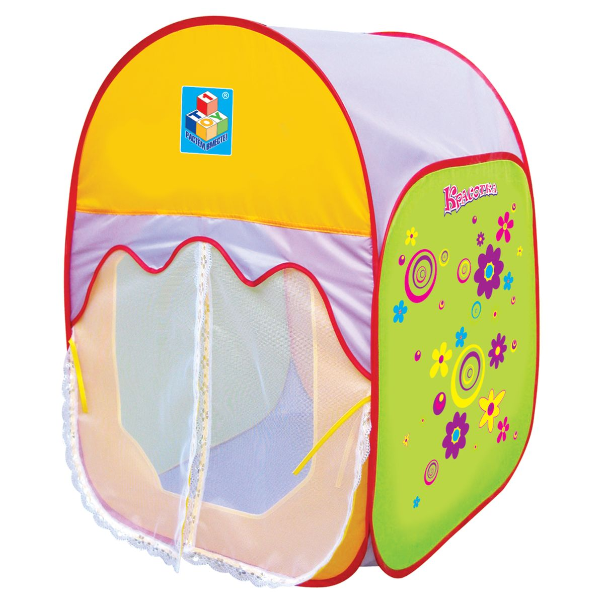 Фото 1TOY Детская игровая палатка в сумке Красотка. Купить в РФ