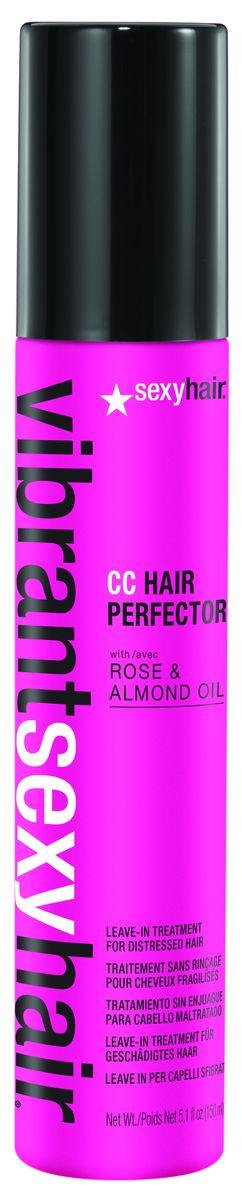 Sexy Hair Уход несмываемый для окрашенных волос Vibrant, 150 мл41CCHP05Обеспечивает волосам идеальный баланс питания и увлажнения, восстанавливает поврежденные участки, придает силу, сокращает время укладки. Растительные белки, антиоксиданты и УФ-фильтры защищают от ежедневных повреждений. Уход Vibrant Sexy Hair сохраняет цвет окрашенных волос, придает им сияние.