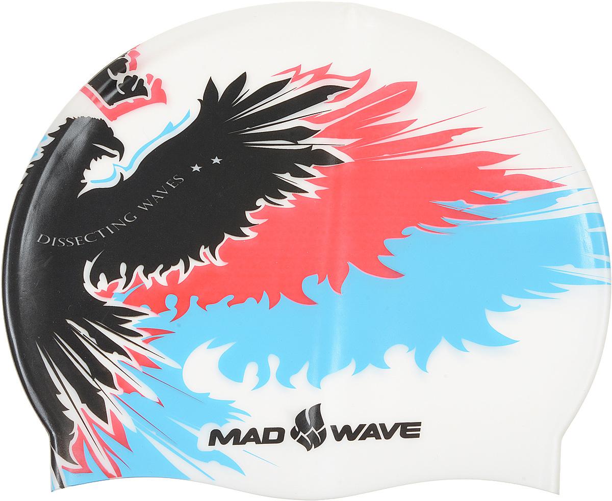 Шапочка для плавания MadWave Empire, цвет: белый3B327Шапочка для плавания MadWave Empire классической плоской формы с рисунком имперского орла. Изготовлена из высококачественного силикона устойчивого к воздействию хлорированной воды, что обеспечивает долгий срок использования. Характеристики: Материал: силикон. Размер шапочки: 22 см x 19 см. Производитель: Китай.Артикул: M0552 02 0 02W.