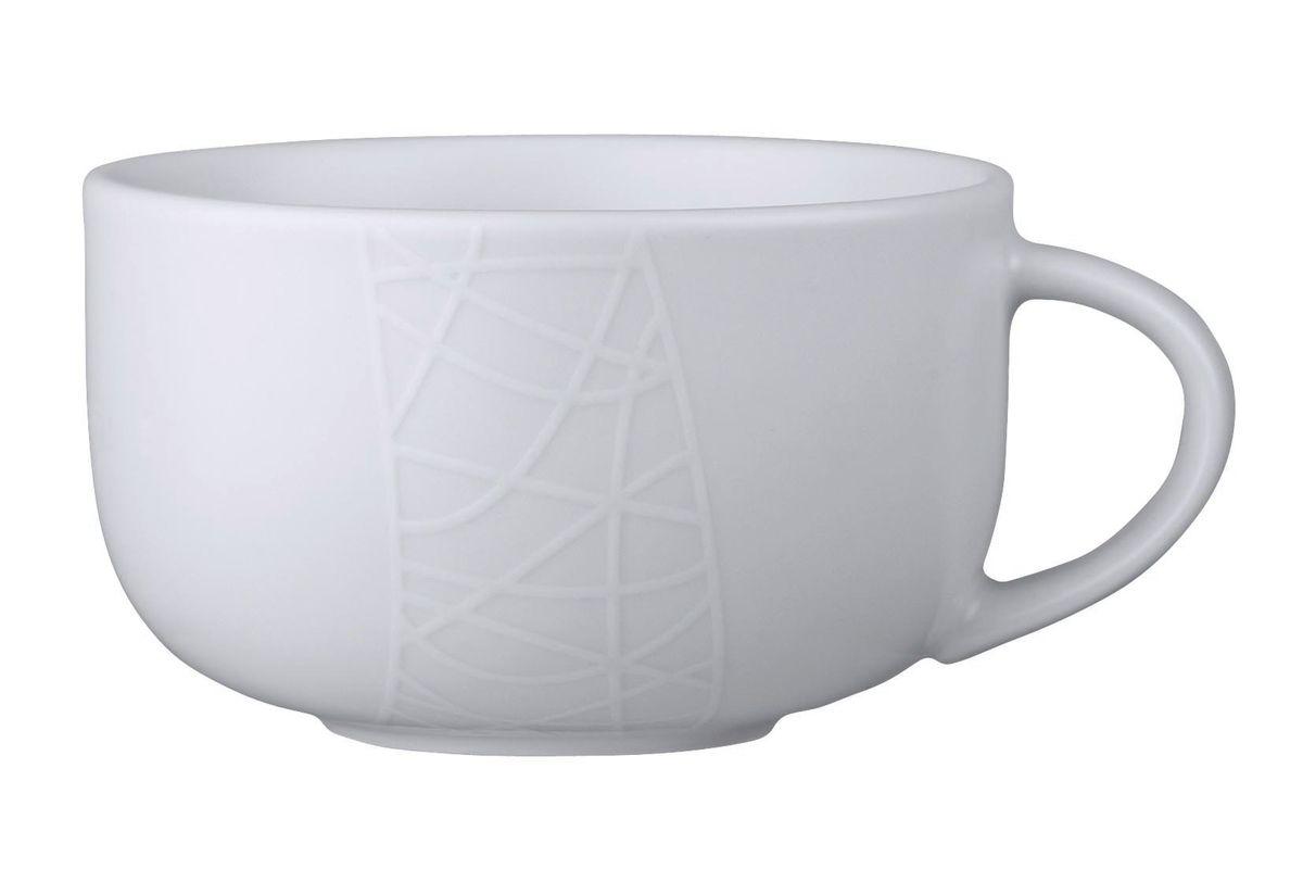 Чашка чайная Churchill, 300 мл. 670201601IM99-5215Джейми Оливер. Простой орнамент с тонкими текстурными линиями. Коллекция «Белое на белом» - лёгкий и непринуждённый стиль. Посуда этой коллекции износостойкая и ударопрочная.