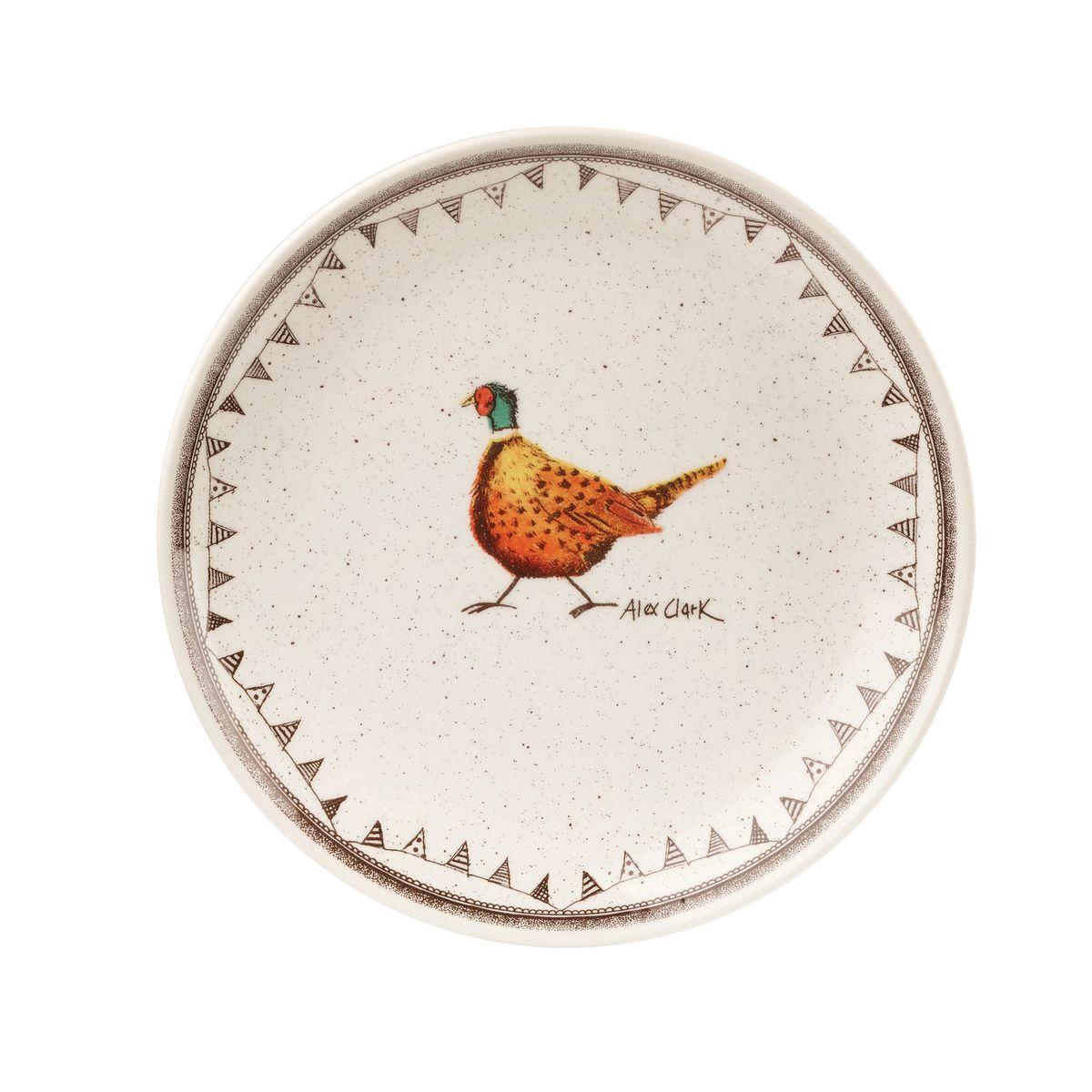 Тарелка десертная Churchill, диаметр 20 см. ACWL0007154 009312Коллекция Живая природа - уникальное сочетание живой природы и прекрасные воспоминания из детства. Лёгкий и простой дизайн с пастельными красками идеально подойдёт для любой кухни. Материал: Фарфор, керамика, фаянс, костяной фарфор.Можно мыть в посудомоечной машинеМожно использовать в микроволновой печи