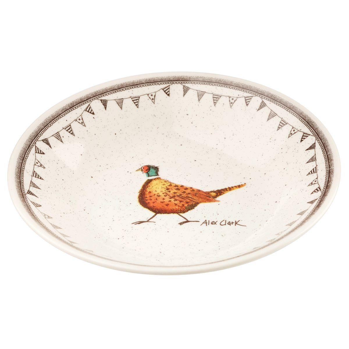 Тарелка суповая Churchill, диаметр 26 см. ACWL00081FS-91909Коллекция Живая природа - уникальное сочетание живой природы и прекрасные воспоминания из детства. Лёгкий и простой дизайн с пастельными красками идеально подойдёт для любой кухни. Материал: Фарфор, керамика, фаянс, костяной фарфор.Можно мыть в посудомоечной машинеМожно использовать в микроволновой печи