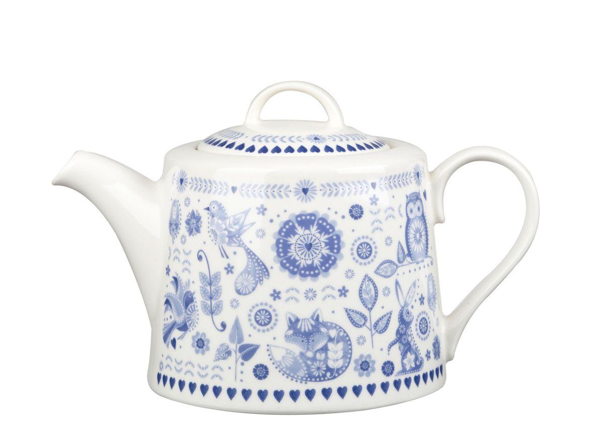 Чайник заварочный Churchill Адмирал, 830 мл. PENZ0011154 009312Коллекция Penzance - классическое сочетание синего и белого с народным дизайном. Материал: фарфор, фаянс, керамика.Можно мыть в посудомоечной машинеМожно использовать в микроволновой печи