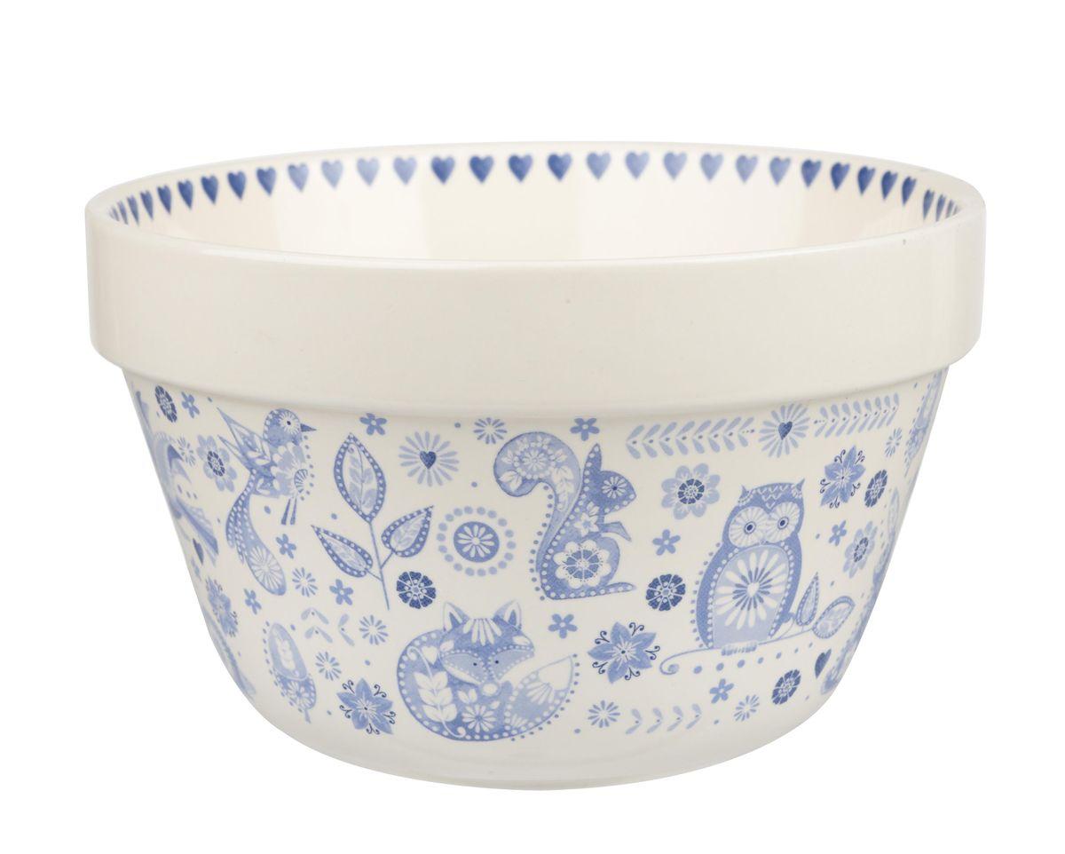 Чаша Churchill, 1000 мл. PENZ00331115510Коллекция Penzance - классическое сочетание синего и белого с народным дизайном. Материал: фарфор, фаянс, керамика.Можно мыть в посудомоечной машинеМожно использовать в микроволновой печи