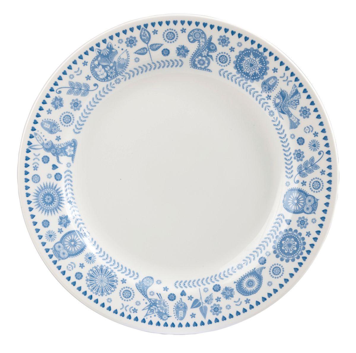 Тарелка обеденная Churchill Пензанс, диаметр 26 смРАД14458194_черный, оранжевыйОбеденная тарелка Churchill изготовлена из высококачественного фаянса. Изделие оформлено красивым рисунком.Можно мыть в посудомоечной машине и использовать в микроволновой печи.Диаметр тарелки (по верхнему краю): 26 см.