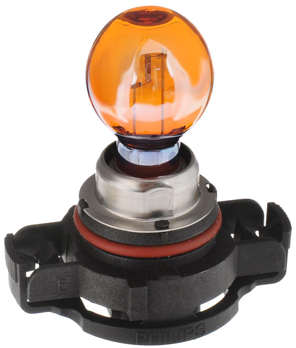 Сигнальная автомобильная лампа Philips HiPerVision Silver Vision PSY24W 12V-24W (PG20/4) серебристый дизайн 12180SV+C12706 (ПО)Автомобильные лампы Philips - ваш надежный путеводитель на дорогах. Грамотно продуманный ассортимент и ценовая политика Philips позволяют автомобилисту подобрать автомобильную лампу согласно своих пожеланий. Классическое решение от Philips различного назначения для всех видов автомобилей.Напряжение: 12 вольт
