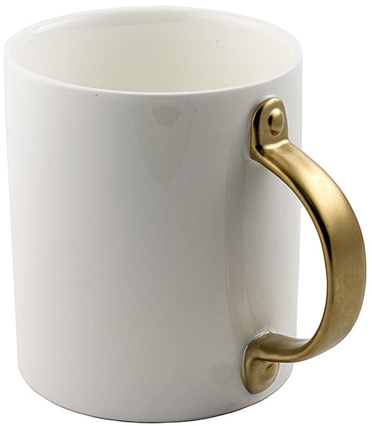 Кружка Эврика, с дверной ручкой, цвет: белый115510Кружка Эврика выполнена из керамики и имеет необычную ручку. Эта удивительная кружка будто приоткрывает дверь в новый мир. Стоит взяться за оригинальную ручку, наполнить кружку бодрящим напитком и - утро становится добрее, день ярче, вечер теплее.
