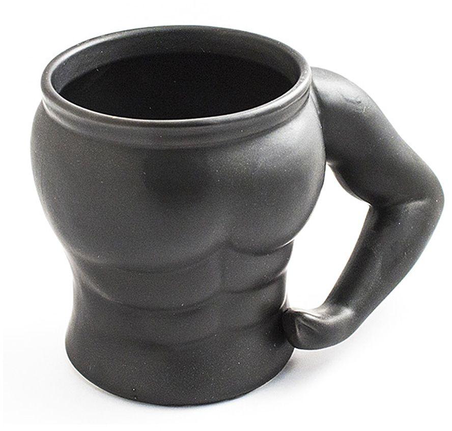 Кружка Эврика Культурист, 300 мл115510Кружка для настоящих мужчин и их поклонниц! Изготовленная из качественной керамики в форме атлетического мужского торса, эта кружка с любимым напитком наполнит силой, уверенностью и энергией ваш день.Размеры кружки: 13 х 9 х 9,5 см.