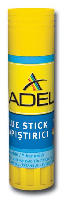 Adel Клей-карандашFS-54100Клей-карандаш Adel идеально подходит для склеивания бумаги, картона и ткани. Выкручивающийся механизм обеспечивает постепенное выдвижение клеящего стержня из пластикового корпуса. Клей-карандаш экологически безопасен, быстро сохнет, не оставляет следов после высыхания и не содержит растворителей.Вес клея: 36 гр.