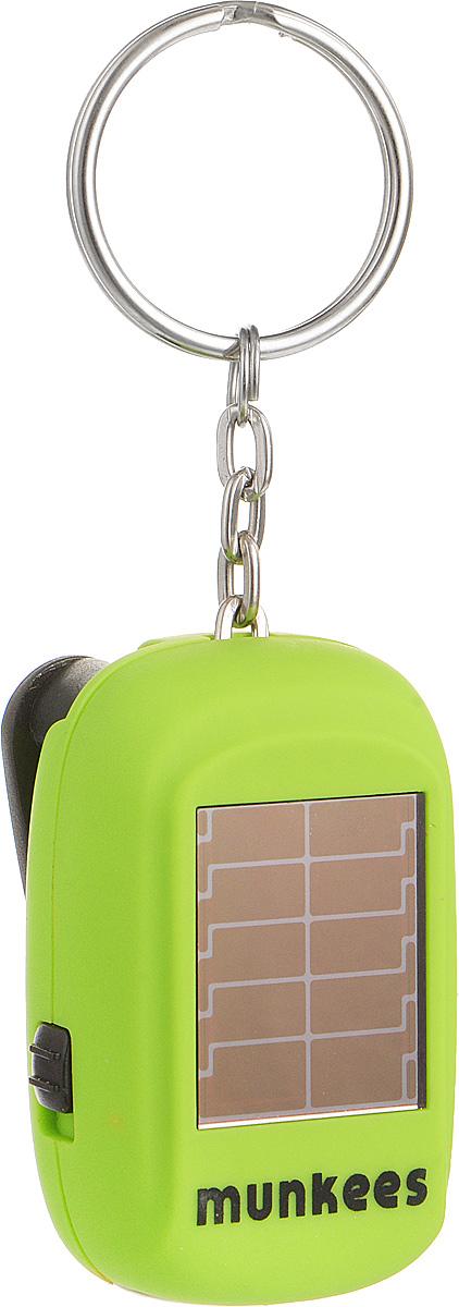 Брелок MUNKEES Вечный фонарикКомфортБрелок MUNKEES Вечный фонарик выполнен из матового, приятного на ощупь ударопрочного пластика. Изделие имеет небольшой аккумулятор, который питается от встроенной солнечной батареи, и динамо элемент, который позволяет работать фонарю от вращения откидного рычага фонаря.Благодаря яркому дизайну и матовой поверхности, брелок станет оригинальным и практичным подарком.