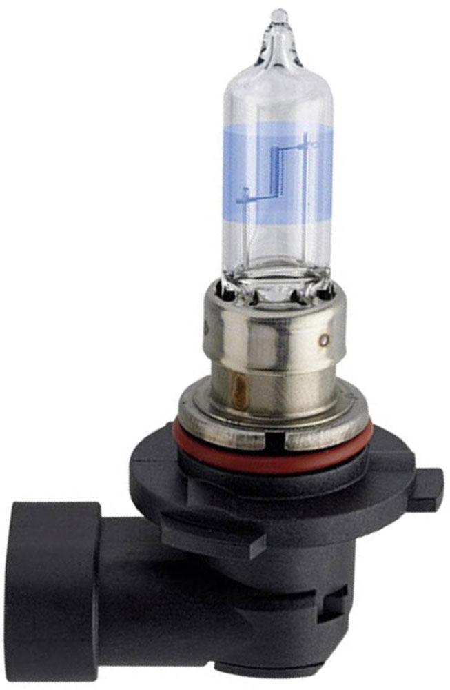Лампа автомобильная галогенная Philips WhiteVision, для фар, цоколь HB3 (P20d), 12V, 60W2615S545JBГалогенная лампа для автомобильных фар Philips WhiteVision произведена из запатентованного кварцевого стекла с УФ фильтром Philips Quartz Glass. Кварцевое стекло Philips в отличие от обычного твердого стекла выдерживает гораздо большее давление смеси газов внутри колбы, что препятствует быстрому испарению вольфрама с нити накаливания. Кварцевое стекло выдерживает большой перепад температур, при попадании влаги на работающую лампу изделие не взрывается и продолжает работать. Лампы Philips WhiteVision излучают интенсивный белый свет с ксеноновым эффектом, что создает идеальные условия для вождения в ночное время. Благодаря повышенной яркости и цветовой температуре до 4300К лампы мгновенно рассеивают темноту: яркость чистого белого света увеличена на 40%. Повышенный уровень безопасности: более длинный световой пучок и на 60% больше света, что обеспечивает лучшую видимость на дороге и позволяет предотвращать потенциально аварийные ситуации. Обладая цветовой температурой ксеноновых ламп и стильным белым цоколем, лампы WhiteVision идеально подходят для головного освещения.Автомобильные галогенные лампы Philips удовлетворят все нужды автомобилистов: дальний свет, ближний свет, передние противотуманные фары, передние и боковые указатели поворота, задние указатели поворота, стоп-сигналы, фонари заднего хода, задние противотуманные фонари, освещение номерного знака, задние габаритные/стояночные фонари, освещение салона.