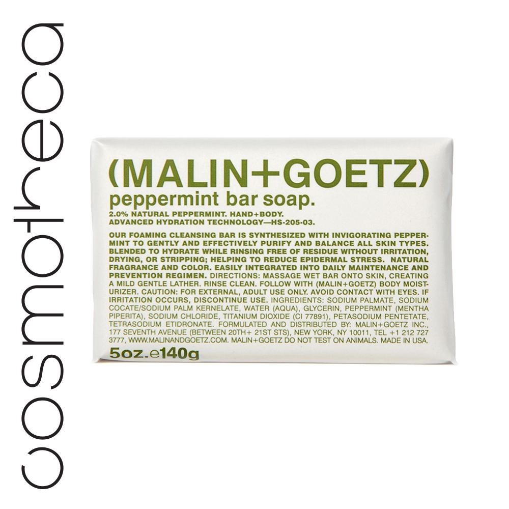 Malin+Goetz Мыло туалетное Мята 140 грMP59.3DМягкая моющая основа, увлажняющий глицерин и яркие ароматы делают мыло очень приятным при использовании.
