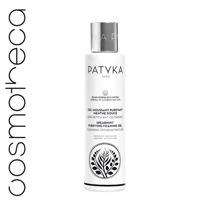 Patyka Cosmetics Гель-пена для лица очищающая Мята 150 млВН002• Очищает, освежает, насыщает кожу кислородом, удаляет все загрязнения и остатки макияжа• сужает поры, создает свежий цвет лица • балансирует кожную экосистему