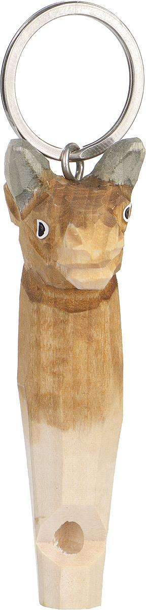 Брелок-свисток Munkees БыкГризлиБрелок-свисток Munkees Бык - это свисток с вырезанной вручную фигуркой, выполненной из дерева. Фигурка символизирует знак зодиака по восточному календарю. Сам свисток можно использовать на групповых тренировках, можно в качестве дрессировки собак, а можно и в экстренных случаях, обратить на себя внимание либо отпугнуть недоброжелателей или агрессивных животных.Такой свисток станет оригинальным и практичным подарком.