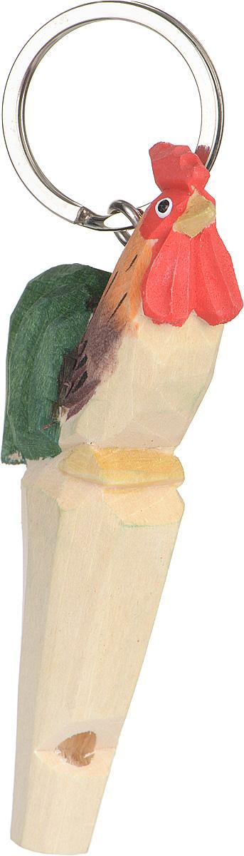 Брелок-свисток MUNKEES Петух3360Брелок-свисток MUNKEES Петух выполнен из дерева и раскрашен в ручную. В 2017 году этот брелок будет иметь особый смысл, так как по восточному зодиакальному календарю 2017 год – это год Красного Огненного Петуха.Брелок-свисток MUNKEES Петух станет оригинальным и практичным подарком.