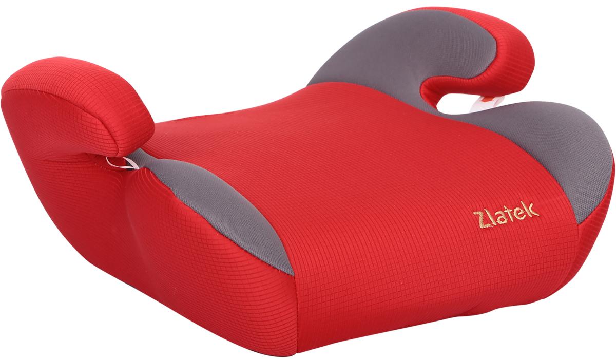 Zlatek Бустер Raft цвет красный21395598Детское автокресло, типа бустер Zlatek «Raft» относится к возрастной группе 3, для детей от 6 до 12 лет, весом от 22 до 36 кг. В основе кресла Zlatek «Raft» усиленный каркас. Износостойкий съемный чехол выполнен из нетоксичного гипоаллергенного материала, легко стирается. Детские удерживающие устройства Zlatek разработаны и сделаны в России с учетом анатомии российских детей. Увеличенное посадочное место обеспечивает удобство в поездке, как в летней, так и в зимней одежде. Автокресло успешно прошло все необходимые краш-тесты и имеет сертификат соответствия техническому регламенту РФ и таможенному союзу.