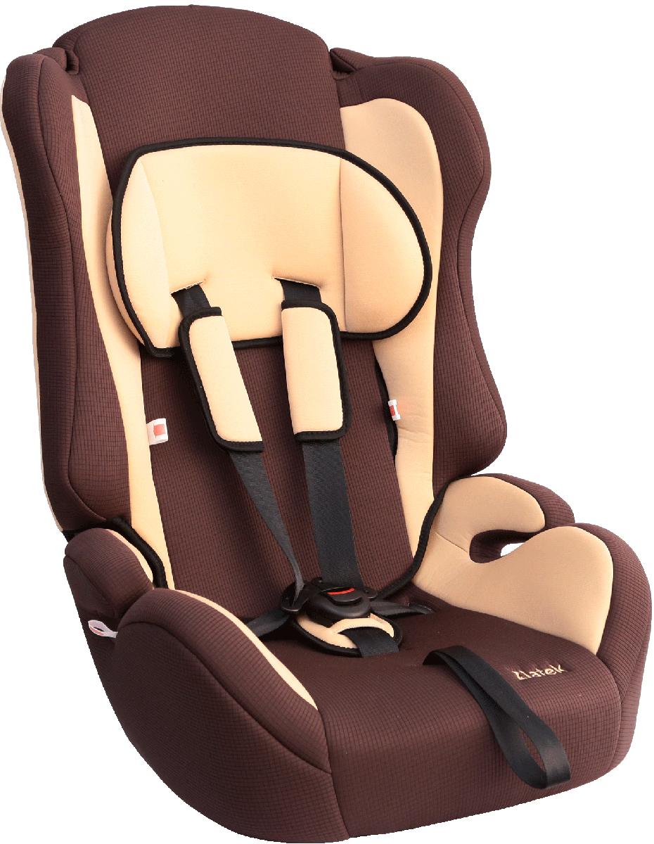 Zlatek Автокресло Atlantic цвет коричневый