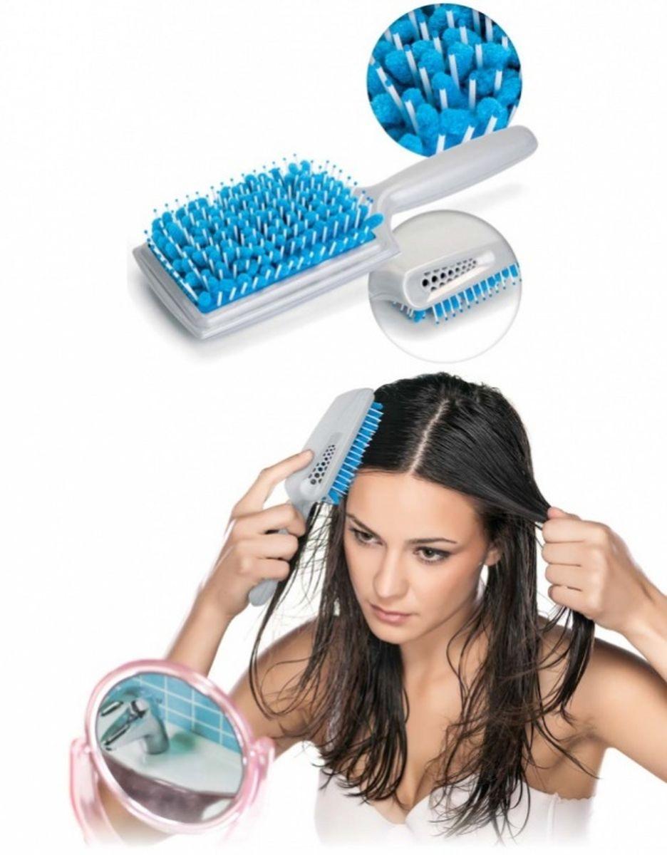 Bradex Щетка для сушки волос с микрофибройMP59.4DСтилисты по всему миру твердят: красивые волосы – это здоровые волосы! Сухие, ломкие по всей длине локоны с посеченными кончиками не могут шикарно выглядеть, какие бы дорогие краски и шампуни Вы не использовали.Позаботьтесь о здоровье Ваших волос со щеткой для сушки волос с микрофиброй! Её уникальная конструкция обеспечивает максимально бережный уход, позволяя Вам отказаться от вытирания волос полотенцем и свести к минимуму использование фена.• Щетка впитывает до 40% влаги благодаря вставкам из микрофибры, мягко расчесывает мокрые волосы и массирует кожу головы.• Механические и термические повреждения структуры волоса полностью исключаются.• Имеются специальные отверстия для эффективного просушивания микрофибры.Щетка для сушки волос: потрясающая красота Ваших здоровых волос!