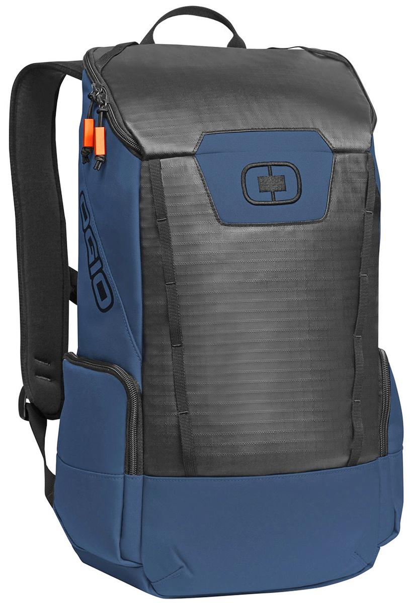 Рюкзак городской Ogio Clutch Pack, цвет: голубой , 21 л7292OGIO – высокотехнологичный продукт от американского производителя. Вместимые сумки для путешествий, работы и отдыха, специальная коллекция городских сумок для женщин, жесткие боксы под мелкий инвентарь и многое другое.Легкий и вместительный рюкзак с приятным дизайном от OGIO. Ваш ноутбук надежно крепится в мягкий чехол, оставляя необходимое пространство для других вещей, снаружи предусмотрены боковые карманы, которые будут полезны для хранения фотоаппарата, зарядки или других полезных аксессуаров. Удобные регулируемые лямки с дополнительным нагрудным ремнем помогут равномерно распределить нагрузку.
