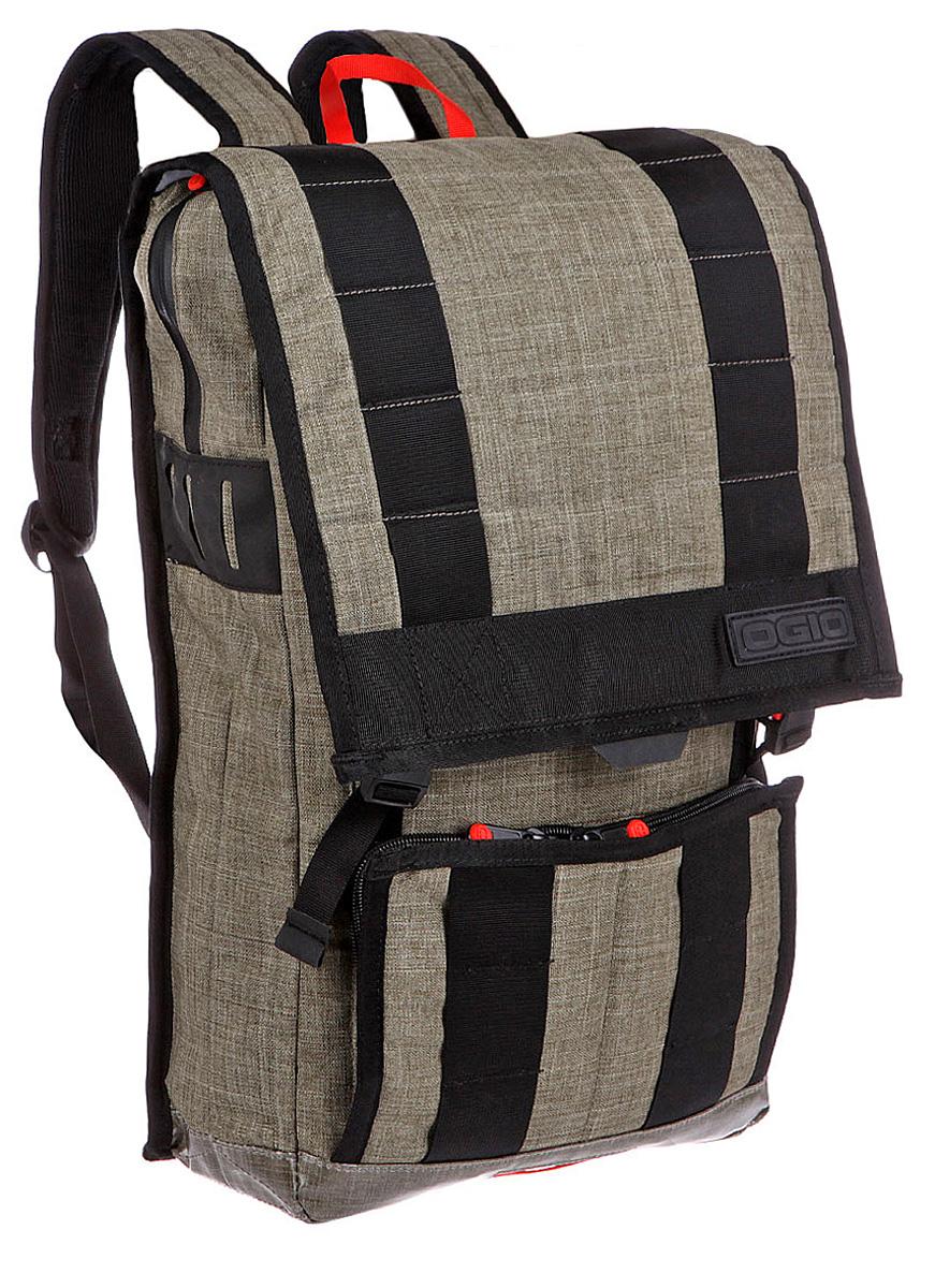 Рюкзак городской Ogio Commuter Pack, цвет: оливковый, хаки , 22 лZ90 blackOGIO – высокотехнологичный продукт от американского производителя. Вместимые сумки для путешествий, работы и отдыха, специальная коллекция городских сумок для женщин, жесткие боксы под мелкий инвентарь и многое другое.Стильный дизайн, отменно продуманное пространство для хранения: с рюкзаком Commuter Pack удобно перемещаться по городу как пешком, так и на велосипеде благодаря эргономичный вентилируемой спинке и удобным лямкам с поперечным ремешком. Отдельные карманы для iPad и iPad Mini, внутренний отдельный отсек для 15-дюймового ноутбука, внешний карман-органайзер на молнии