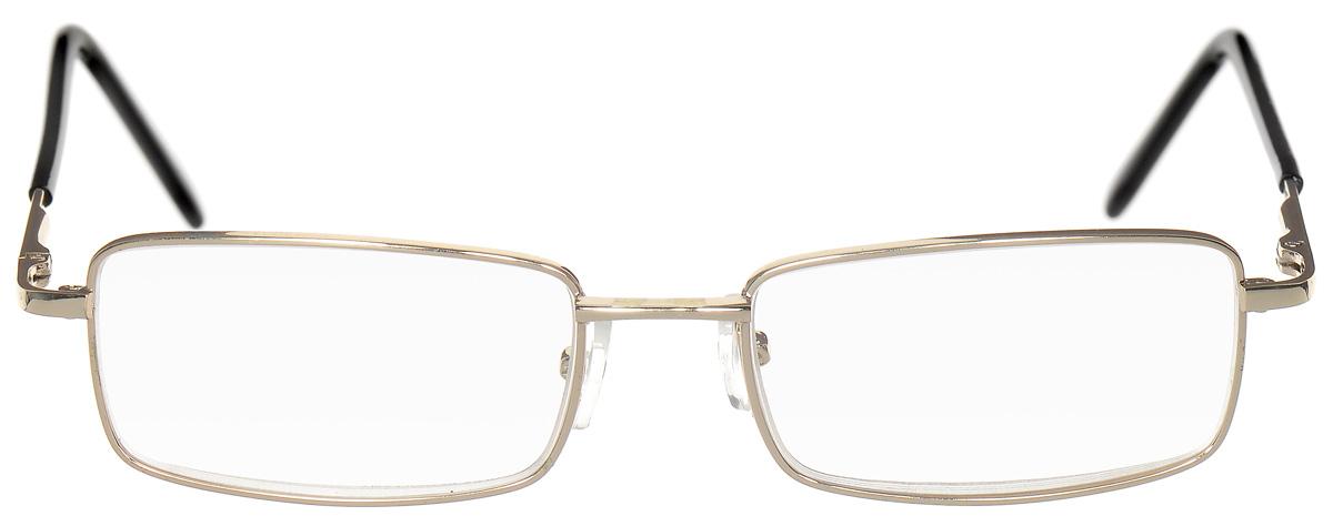 Proffi Home Очки корригирующие (для чтения) 7716 Elife +2.50, цвет: золотойперфорационные unisexКорригирующие очки, это очки которые направлены непосредственно на коррекцию зрения. Готовые очки для чтения с минусовыми и плюсовыми диоптриями (от -2,5 до + 4,00), не требующие рецепта врача. За счет технологически упрощенной конструкции и отсуствию этапа изготовления линз по индивидуальным параметрам - экономичный готовый вариант для людей, пользующихся очками нечасто, в основном, для чтения.