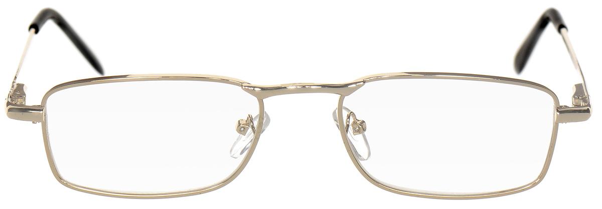 Proffi Home Очки корригирующие (для чтения) 5858 Ralph +1.50, цвет: золотойперфорационные unisexКорригирующие очки, это очки которые направлены непосредственно на коррекцию зрения. Готовые очки для чтения с минусовыми и плюсовыми диоптриями (от -2,5 до + 4,00), не требующие рецепта врача. За счет технологически упрощенной конструкции и отсуствию этапа изготовления линз по индивидуальным параметрам - экономичный готовый вариант для людей, пользующихся очками нечасто, в основном, для чтения.