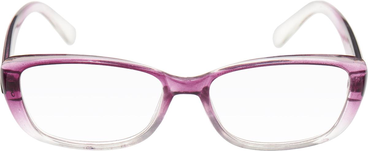 Proffi Home Очки корригирующие (для чтения) 908 Oscar +2.50, цвет: фиолетовыйAS009Корригирующие очки, это очки которые направлены непосредственно на коррекцию зрения. Готовые очки для чтения с минусовыми и плюсовыми диоптриями (от -2,5 до + 4,00), не требующие рецепта врача. За счет технологически упрощенной конструкции и отсуствию этапа изготовления линз по индивидуальным параметрам - экономичный готовый вариант для людей, пользующихся очками нечасто, в основном, для чтения.
