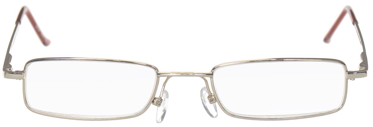 Proffi Home Очки корригирующие (для чтения) 5097 Elife +1.50, цвет: золотойPNG-BM40Корригирующие очки, это очки которые направлены непосредственно на коррекцию зрения. Готовые очки для чтения с минусовыми и плюсовыми диоптриями (от -2,5 до + 4,00), не требующие рецепта врача. За счет технологически упрощенной конструкции и отсуствию этапа изготовления линз по индивидуальным параметрам - экономичный готовый вариант для людей, пользующихся очками нечасто, в основном, для чтения.