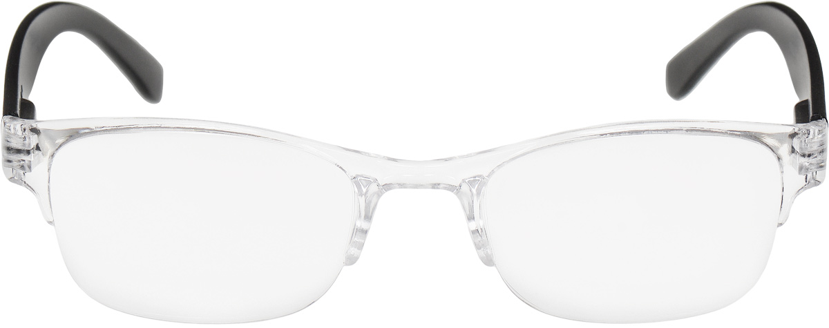 Proffi Home Очки корригирующие (для чтения) 322 Fabia Monti +1.00, цвет: прозрачныйPNG-BM40Корригирующие очки, это очки которые направлены непосредственно на коррекцию зрения. Готовые очки для чтения с минусовыми и плюсовыми диоптриями (от -2,5 до + 4,00), не требующие рецепта врача. За счет технологически упрощенной конструкции и отсуствию этапа изготовления линз по индивидуальным параметрам - экономичный готовый вариант для людей, пользующихся очками нечасто, в основном, для чтения.