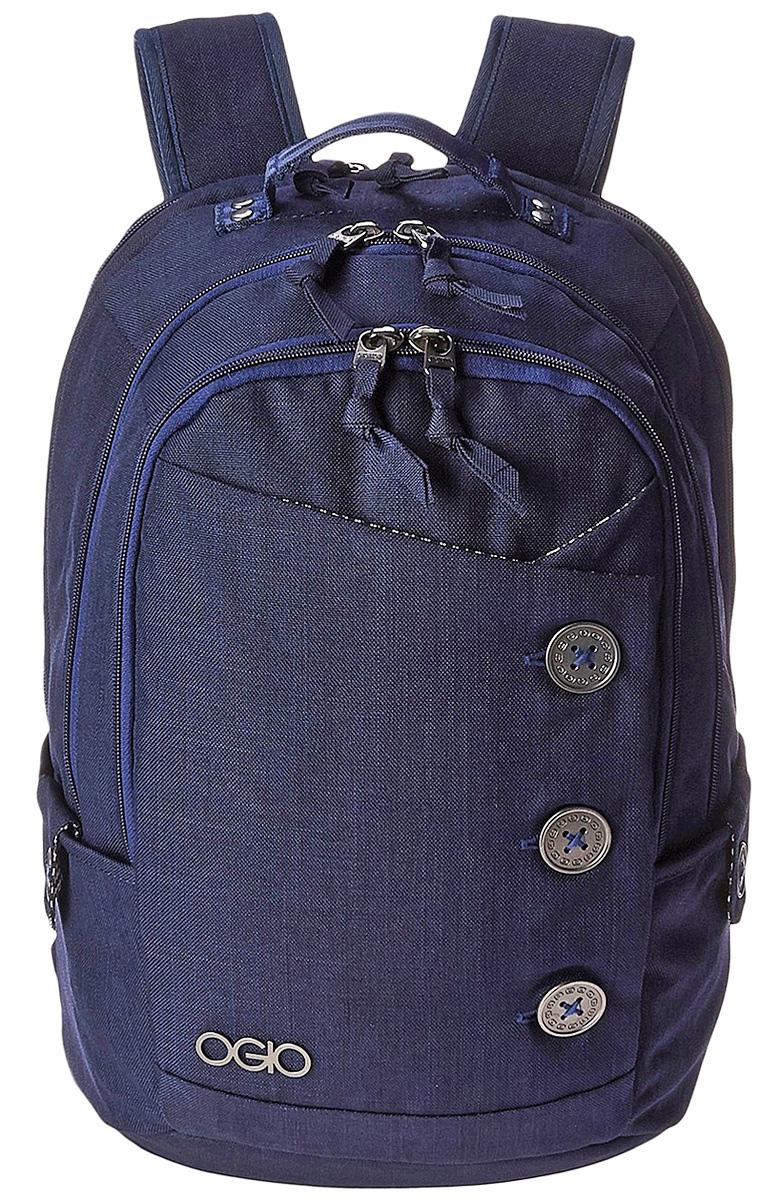 Рюкзак городской Ogio Soho Pack, цвет: серо-голубой , 22 лZ90 blackOGIO – высокотехнологичный продукт от американского производителя. Вместимые сумки для путешествий, работы и отдыха, специальная коллекция городских сумок для женщин, жесткие боксы под мелкий инвентарь и многое другое.