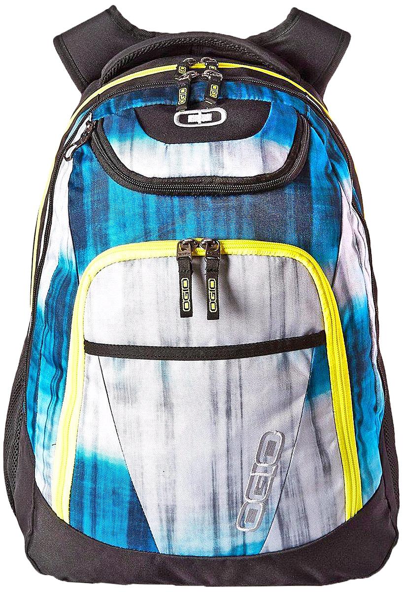 Рюкзак городской Ogio Tribune Pack, цвет: серый, синий, черный, 40 лГризлиOGIO – высокотехнологичный продукт от американского производителя. Вместимые сумки для путешествий, работы и отдыха, специальная коллекция городских сумок для женщин, жесткие боксы под мелкий инвентарь и многое другое. Городской рюкзак с множеством карманов создан для любителей порядка и для тех, кто устал тратить время на поиски важных мелочей сумках с одним единственным отсеком. Возьмите Tribune Pack на загородную прогулку и наслаждайтесь вместительностью и удобством доступа к бутылкам с водой в боковых сетчатых карманах, в поездке Вас несомненно порадует удобный отсек для гаджетов, готовый сохранить Ваш ноутбук и планшет в целости. С этим рюкзаком удобно ходить на учебу благодаря продуманному внешнему карману-органайзеру с множеством отделений для канцелярских принадлежностей и вместительному основному отсеку.