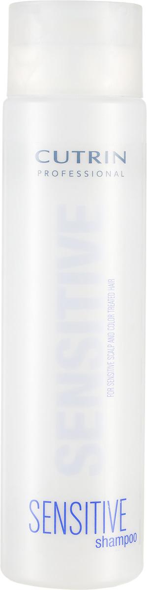 Cutrin Шампунь для окрашенных волос и чувствительной кожи головы Sensitive Shampoo Color Treated Hair And Sensitive Scalp, 300 мл72523WDПодходит для ежедневного использования. Содержит экстракт льна, который успокаивает и смягчает кожу головы, ухаживает за волосами. Поддерживает насыщенность цвета окрашенных волос, придает восхитительный блеск.
