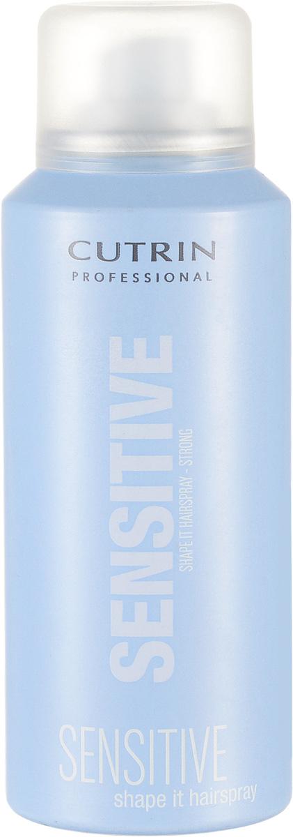 Cutrin Лак сильной фиксации Fragrance Free Shape It Hair Spray Strong, без отдушки, 100 млMP59.4DМгновенно высыхает, легко удаляется при расчесывании. Входящий в состав продукта пантенол обспечивает дополнительный ухаживающий эффект, защищает от негативных внешних факторов. За счет отсутствия отдушки не оказывает раздражающего воздействия на органы дыхания.