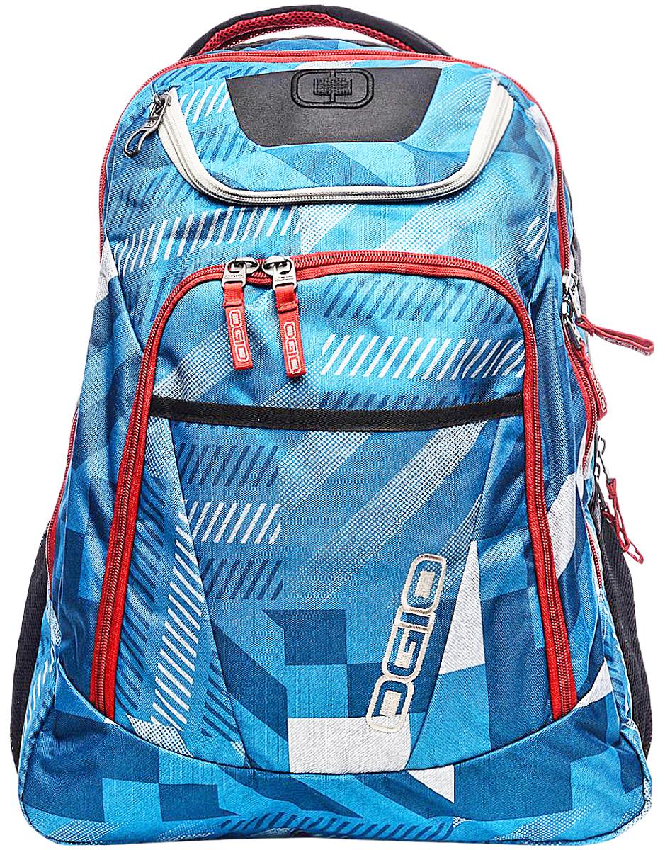 Рюкзак городской Ogio Tribune Pack, цвет: голубой, 40 л7292OGIO – высокотехнологичный продукт от американского производителя. Вместимые сумки для путешествий, работы и отдыха, специальная коллекция городских сумок для женщин, жесткие боксы под мелкий инвентарь и многое другое. Городской рюкзак с множеством карманов создан для любителей порядка и для тех, кто устал тратить время на поиски важных мелочей сумках с одним единственным отсеком. Возьмите Tribune Pack на загородную прогулку и наслаждайтесь вместительностью и удобством доступа к бутылкам с водой в боковых сетчатых карманах, в поездке Вас несомненно порадует удобный отсек для гаджетов, готовый сохранить Ваш ноутбук и планшет в целости. С этим рюкзаком удобно ходить на учебу благодаря продуманному внешнему карману-органайзеру с множеством отделений для канцелярских принадлежностей и вместительному основному отсеку.