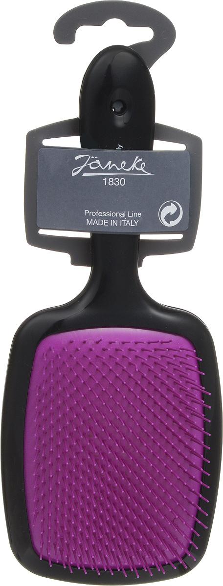 Janeke Щетка для волос. 71SP227 RSA808656Марка Janeke – мировой лидер по производству расчесок, щеток, маникюрных принадлежностей, зеркал и косметичек. Марка Janeke, основанная в 1830 году, вот уже почти 180 лет поддерживает непревзойденное качество своей продукции, сочетая новейшие технологии с традициями старых миланских мастеров. Все изделия на 80% производятся вручную, а инновационные технологии и современные материалы делают продукцию марки поистине уникальной. Стильный и эргономичный дизайн, яркие цветовые решения – все это приносит истинное удовольствие от использования аксессуаров Janeke. Цветная линия - это расчески и щетки,изготовленные из высококачественного пластика.