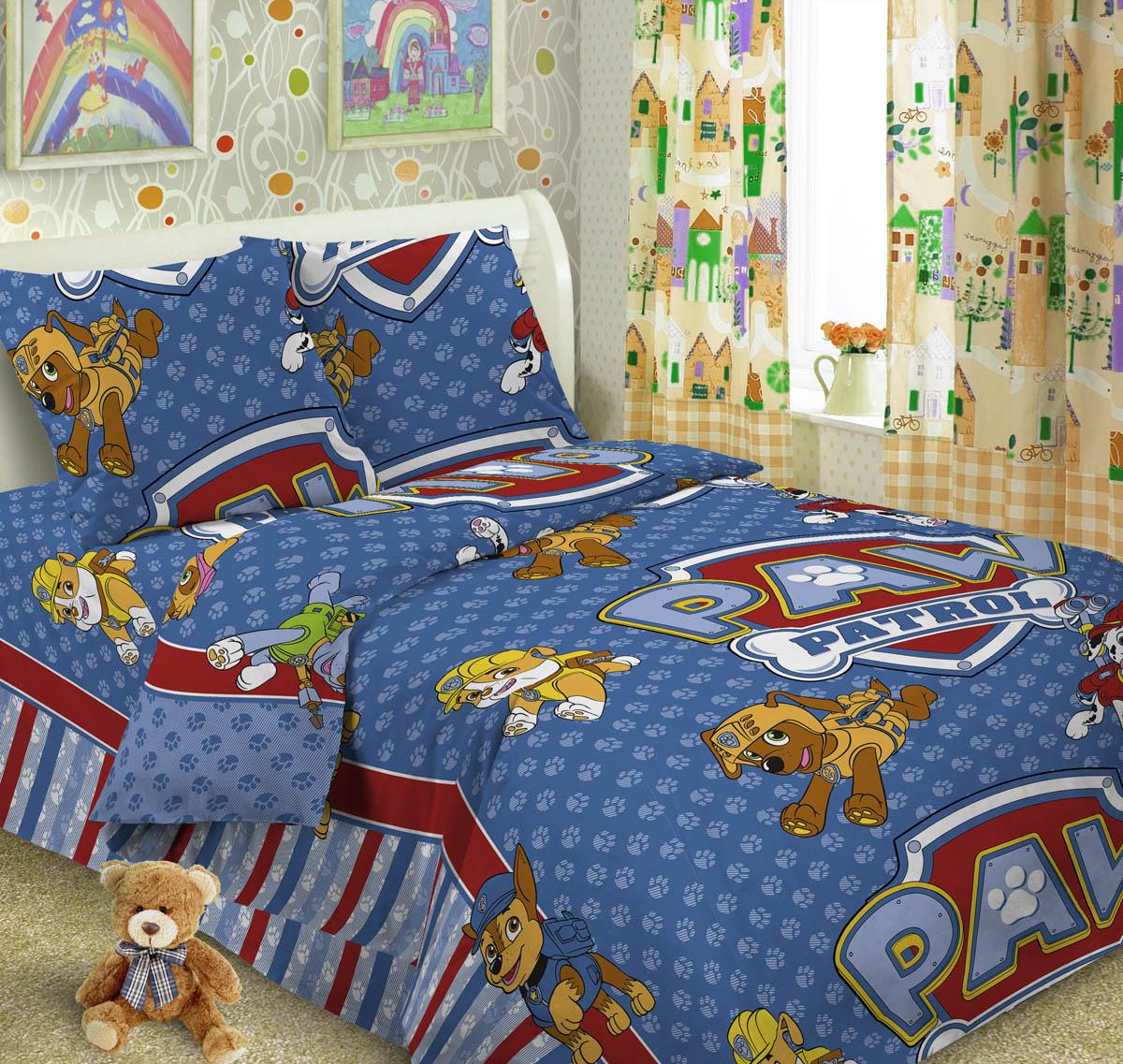 Letto Комплект детского постельного белья Догги цвет голубой96515412Letto.kids - это веселые детские и подростковые дизайны, в хлопковом исполнении с хорошими устойчивыми красителями и все это по очень доступной цене! Такое белье прослужит долго и выдержит много стирок. Рисунок на наволочке может отличаться от представленного на фото.Пододеяльник 143х215 см, простынь 148х215 см, наволочка 50х70 см