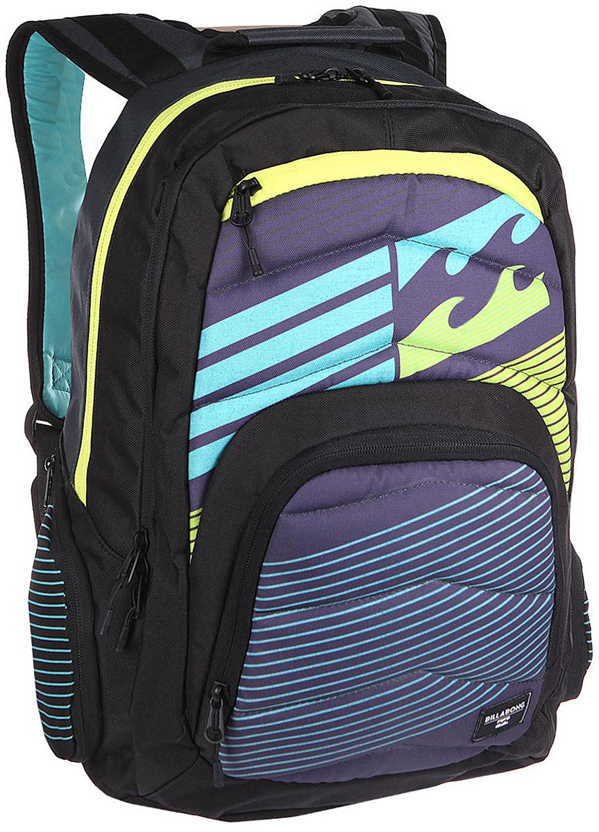 Рюкзак городской Billabong Relay Backpack, цвет: серый, 24 лZ90 blackОтличный городской рюкзак с двумя вместительными отделениями и спокойным дизайном, не перегруженным лишними деталями. Небольшой внешний карман на молнии с внутренними отсекамипоможет правильно организовать необходимые мелочи, а в боковые карманы с легкостью поместиться, например, бутылка воды.