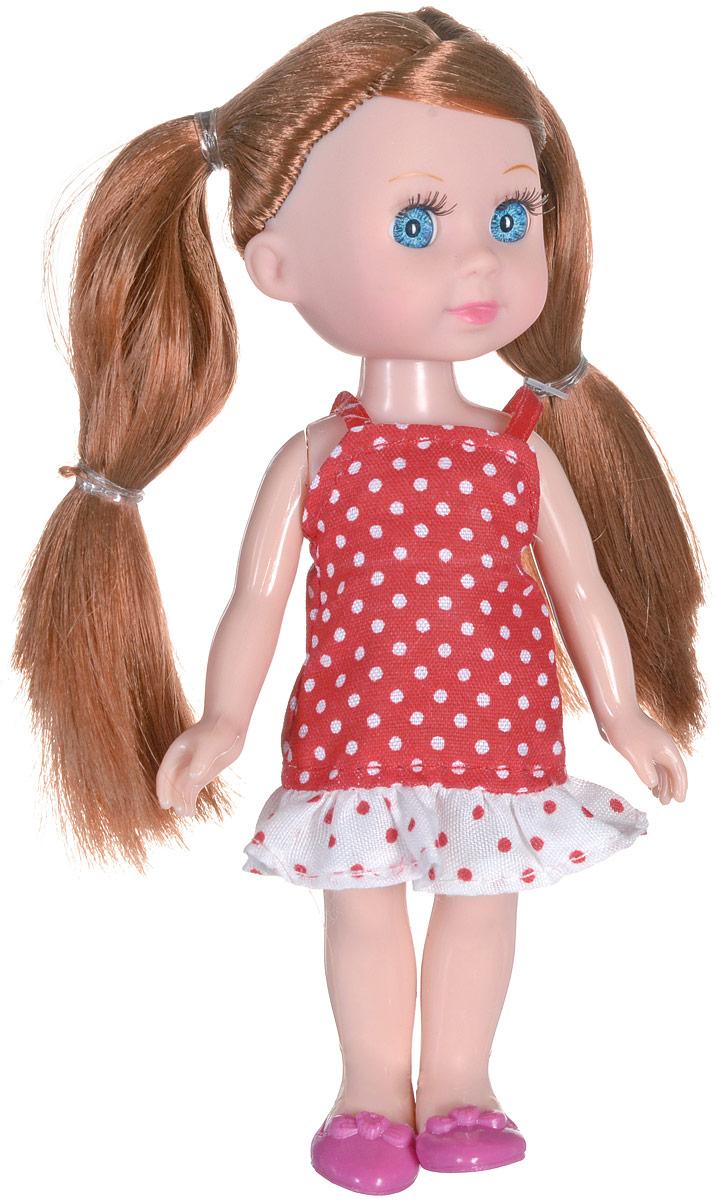 Карапуз Мини-кукла Машенька брюнетка куклы карапуз кукла карапуз принцесса рапунцель 25 см
