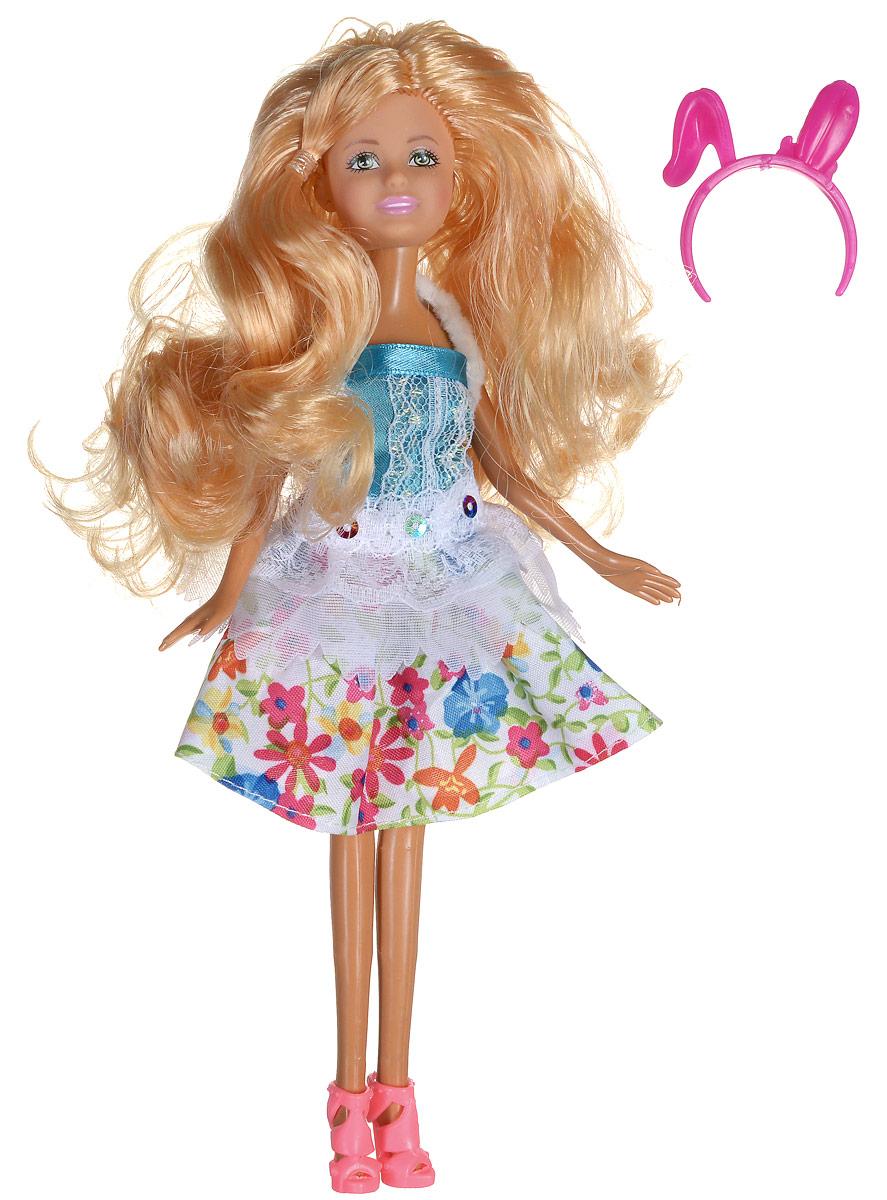 Shantou Кукла Ardana цвет платья белый бирюзовый